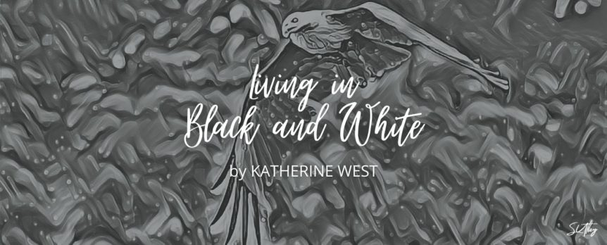 Living in Black and White by Katherine West Title Image