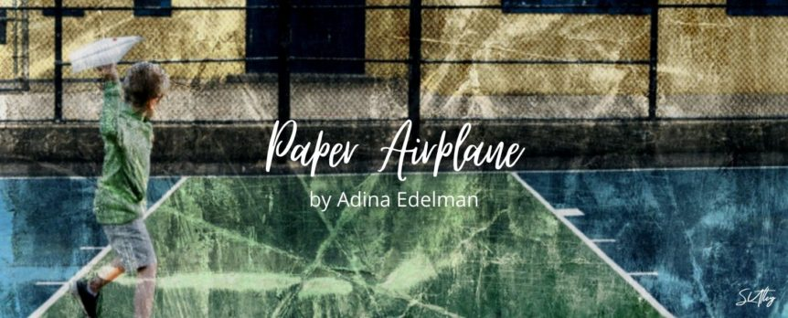Paper Airplane by Adina Edelman