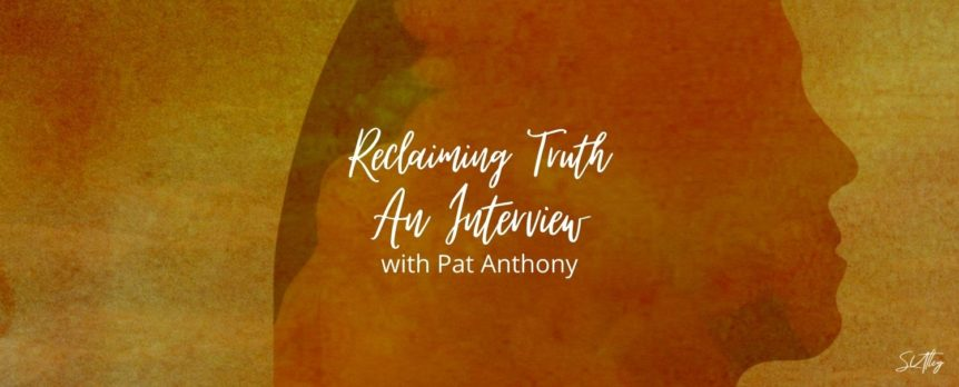 Author Interview with Pat Anthony
