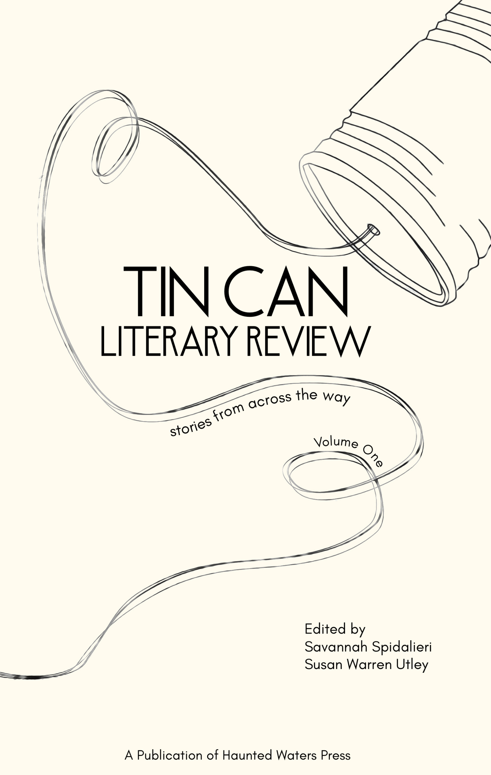 Tin Can Literary Review Volume One, 2021