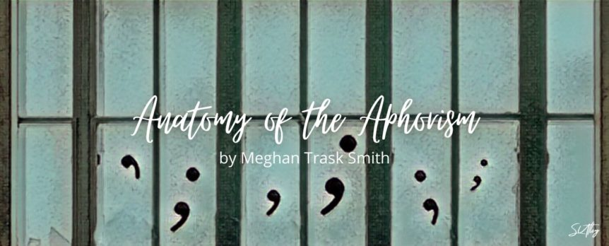 Anatomy of the Aphorism by Meghan Trask Smith